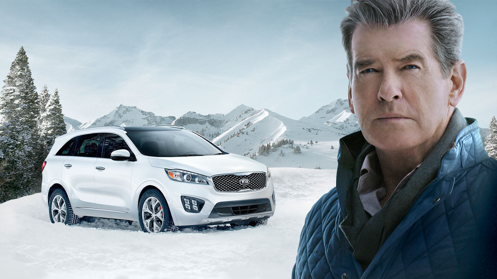 Pierce Brosnan makes #PerfectGetaway in Kia Sorento Super Bowl Ad