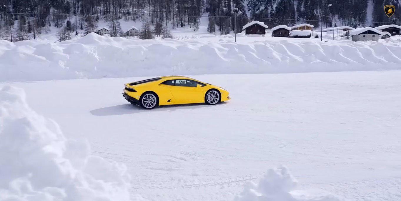 Lamborghini Huracán Four-Wheel-Drive System #LamboHuracan