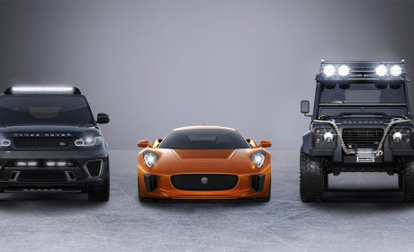 Land Rover and Jaguar to play part in Spectre James Bond movie