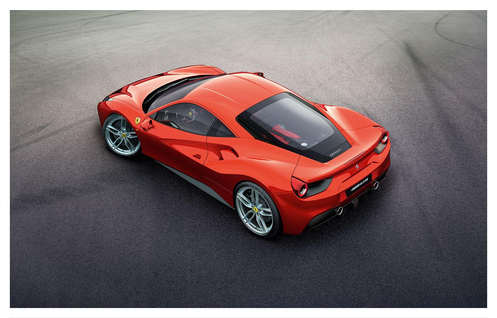 The Ferrari 488