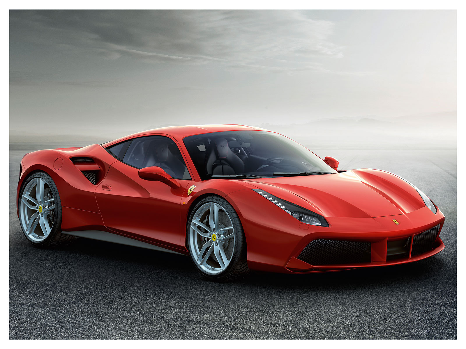 The new Ferrari 488 GTB