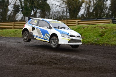 James May takes to the air in 600hp VW Polo Rallycross car