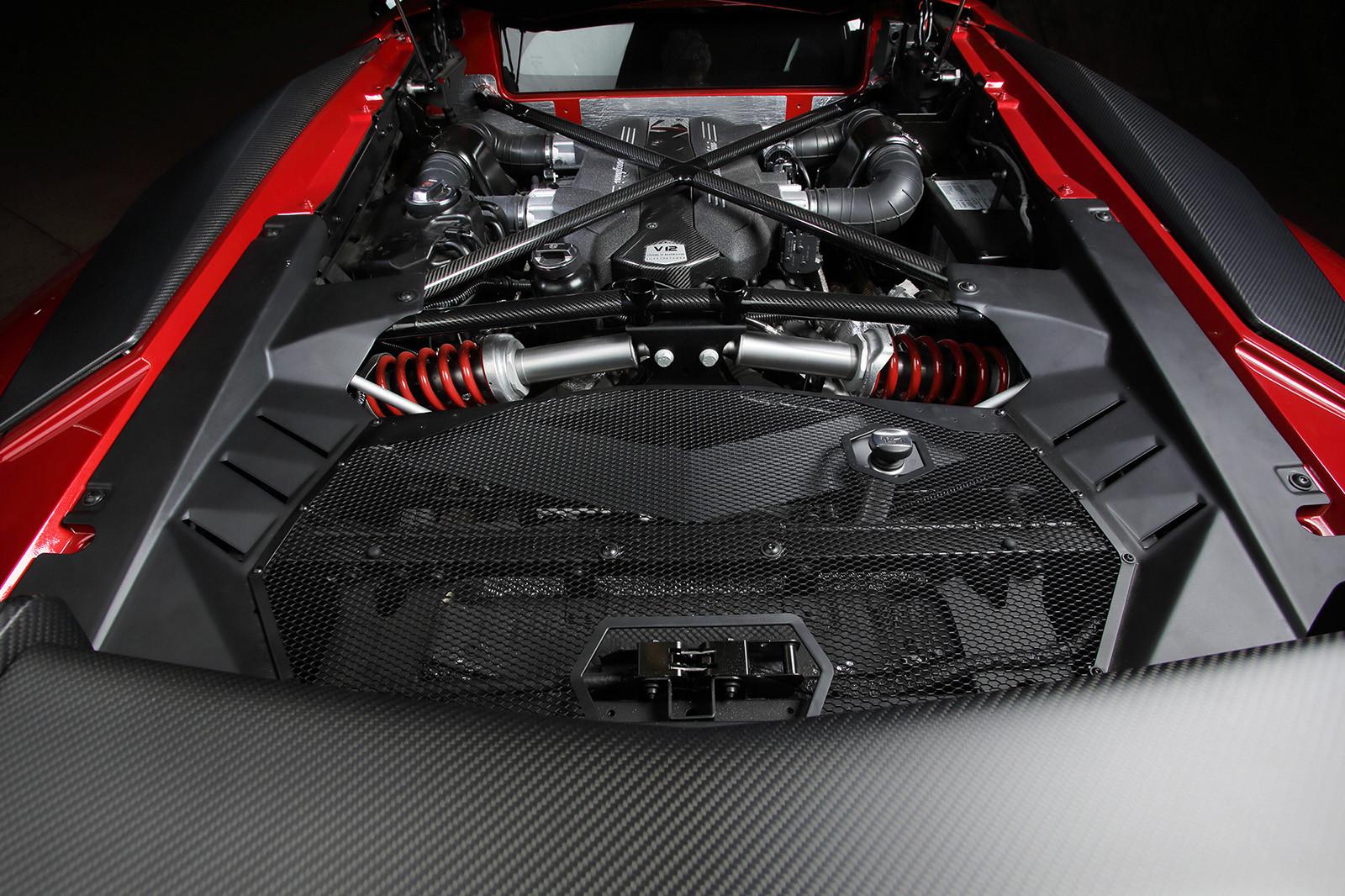 Lamborghini Aventador LP 750-4 Superveloce V12 Engine