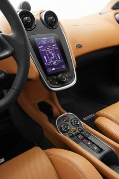 McLaren 570S Centre Console and Dashboard