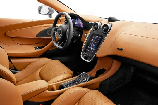 McLaren 570S Coupé Drivers Seat