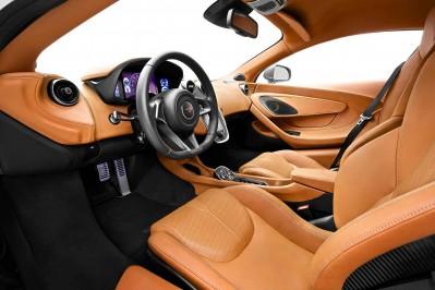 McLaren 570S Drivers Seat