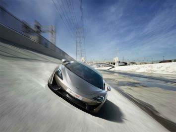 McLaren 570S Front View