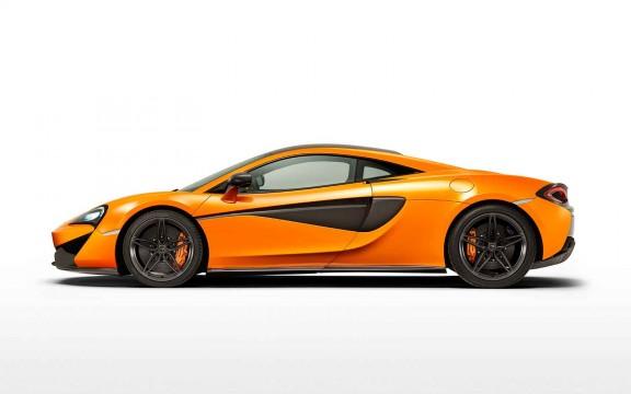 McLaren 570S Side View