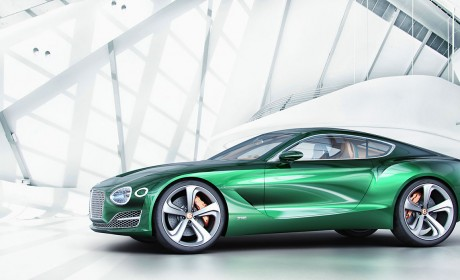 New Bentley EXP 10 Speed 6 Concept at Geneva Motor Show