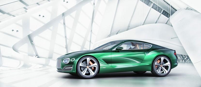 New Bentley EXP 10 Speed 6 Concept at Geneva Motor Show