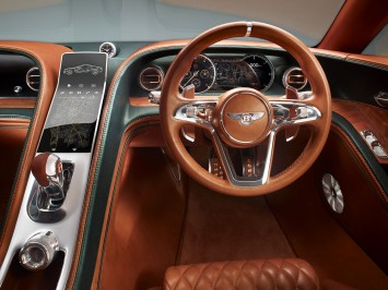 The Bentley EXP 10 Speed 6 Dashboard