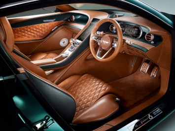 The Two Seater Bentley EXP 10 Speed 6