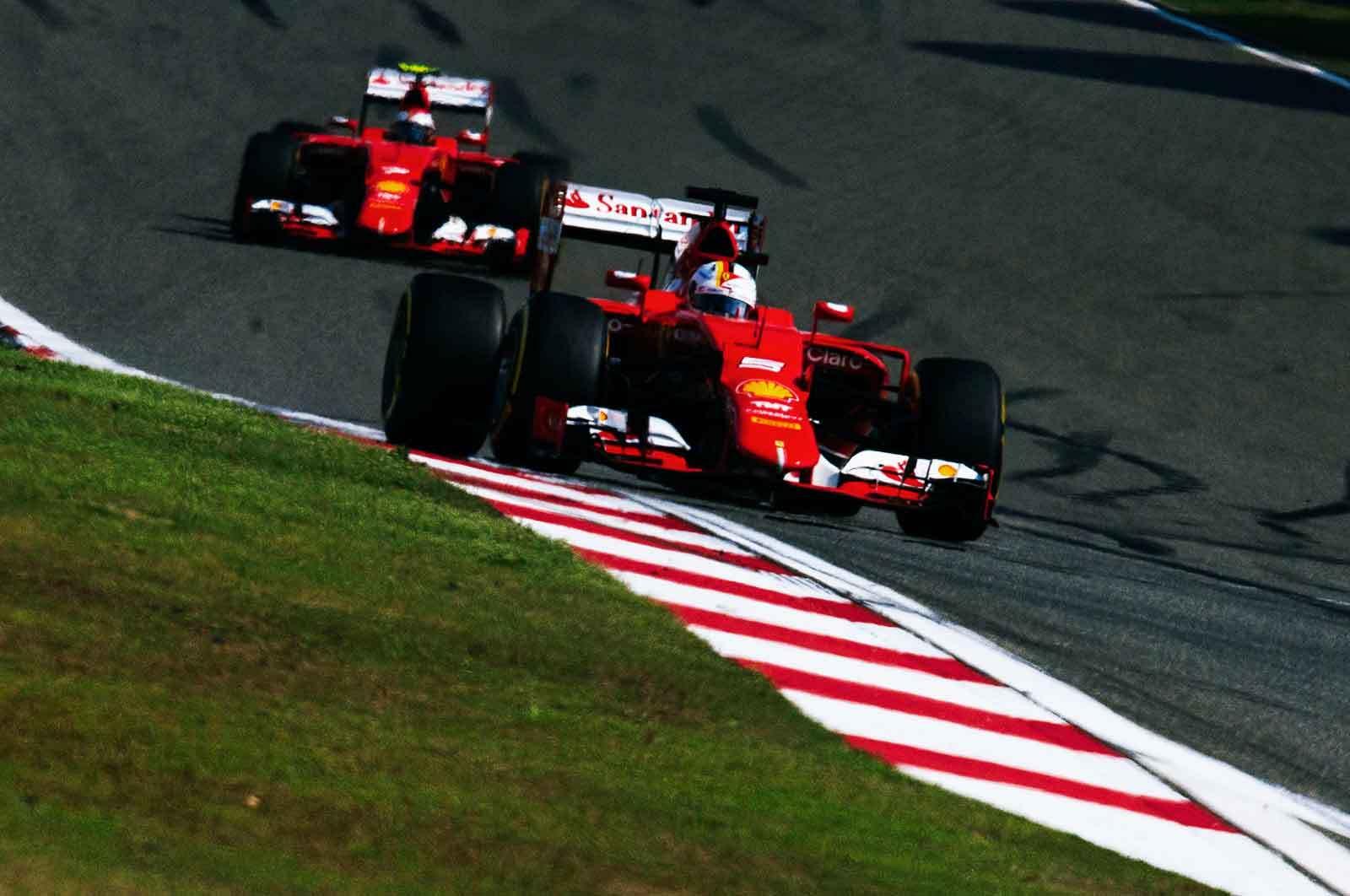 Chinese Grand Prix Kimi Raikkonen Sebastian Vettel
