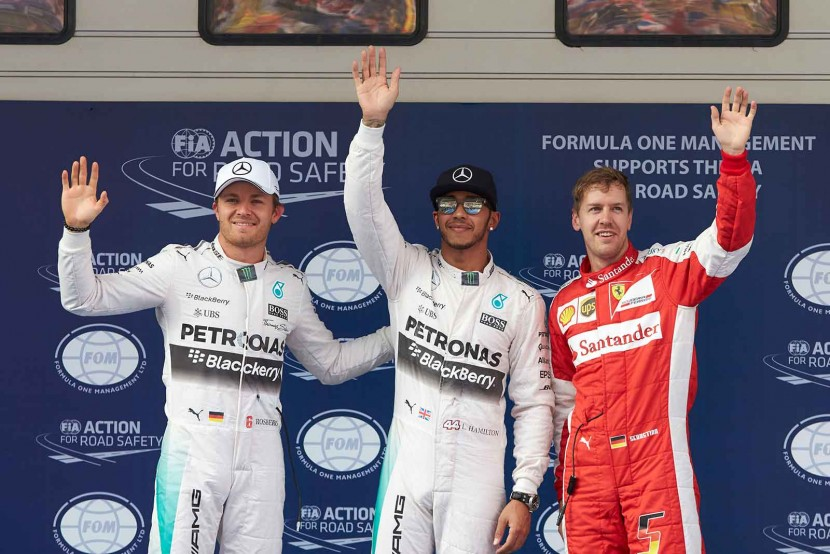 Mercedes finish 1-2 ahead of both Ferrari drivers in Chinese Grand Prix