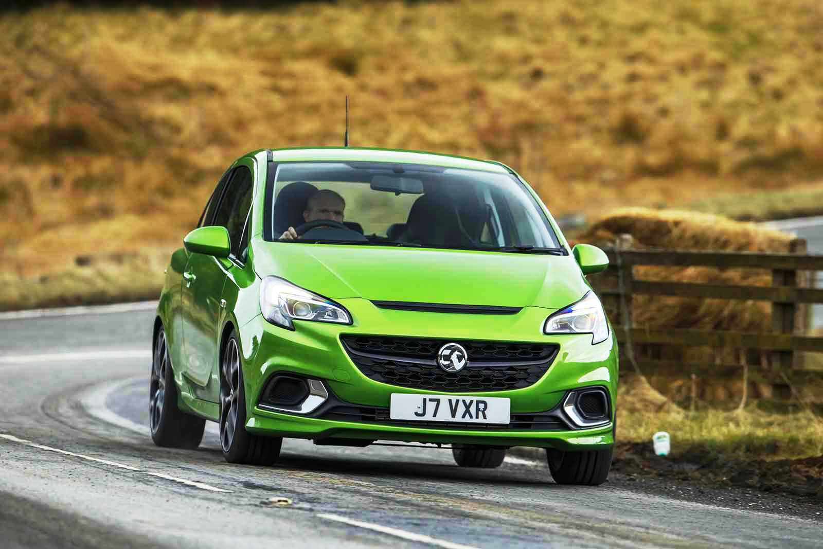 The New Vauxhall Corsa VXR On The Road
