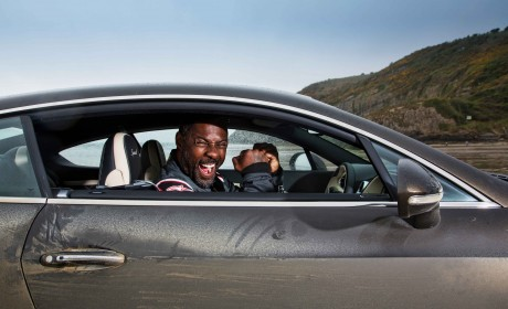 Idris Elba takes 'Flying Mile' land speed record in Continental GT Speed
