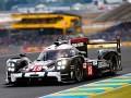 Porsche 919 Hybrid (18), Porsche Team: Romain Dumas, Neel Jani, Marc Lieb - pole position Le Mans 2015