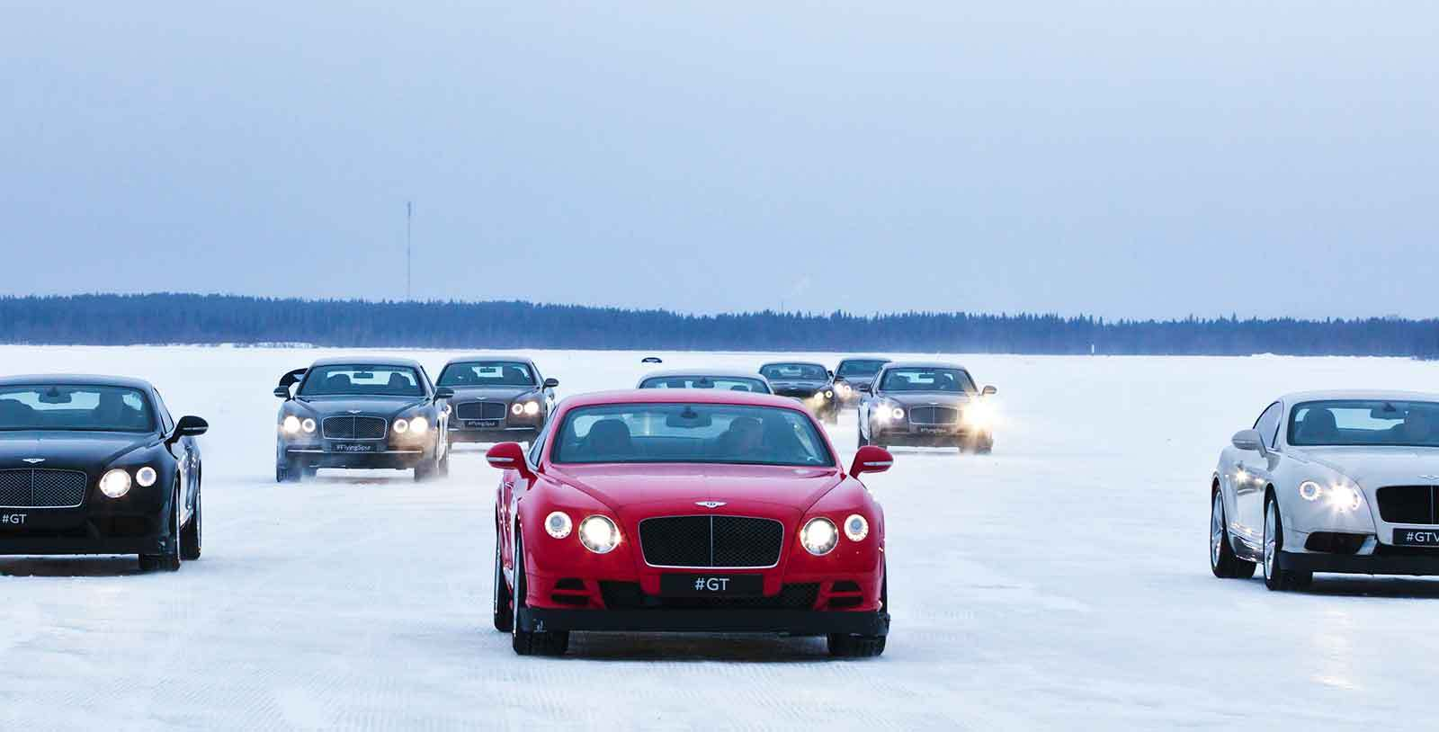Bentayga makes Power on Ice Debut-