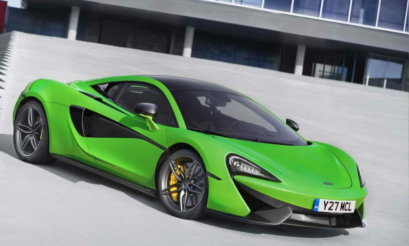 McLaren 570S Sports Series enters production
