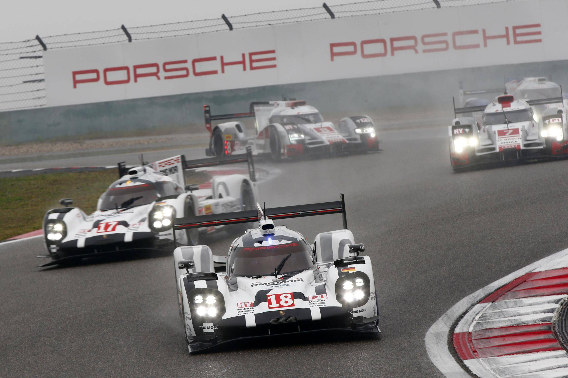 Porsche 919 Hybrid LMP1 winner 2015 WEC Manufacturers' Championship