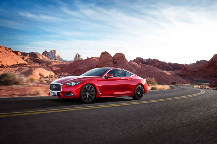 New Infiniti Q60 and QX30 Crossover to make Geneva Motor Show debut