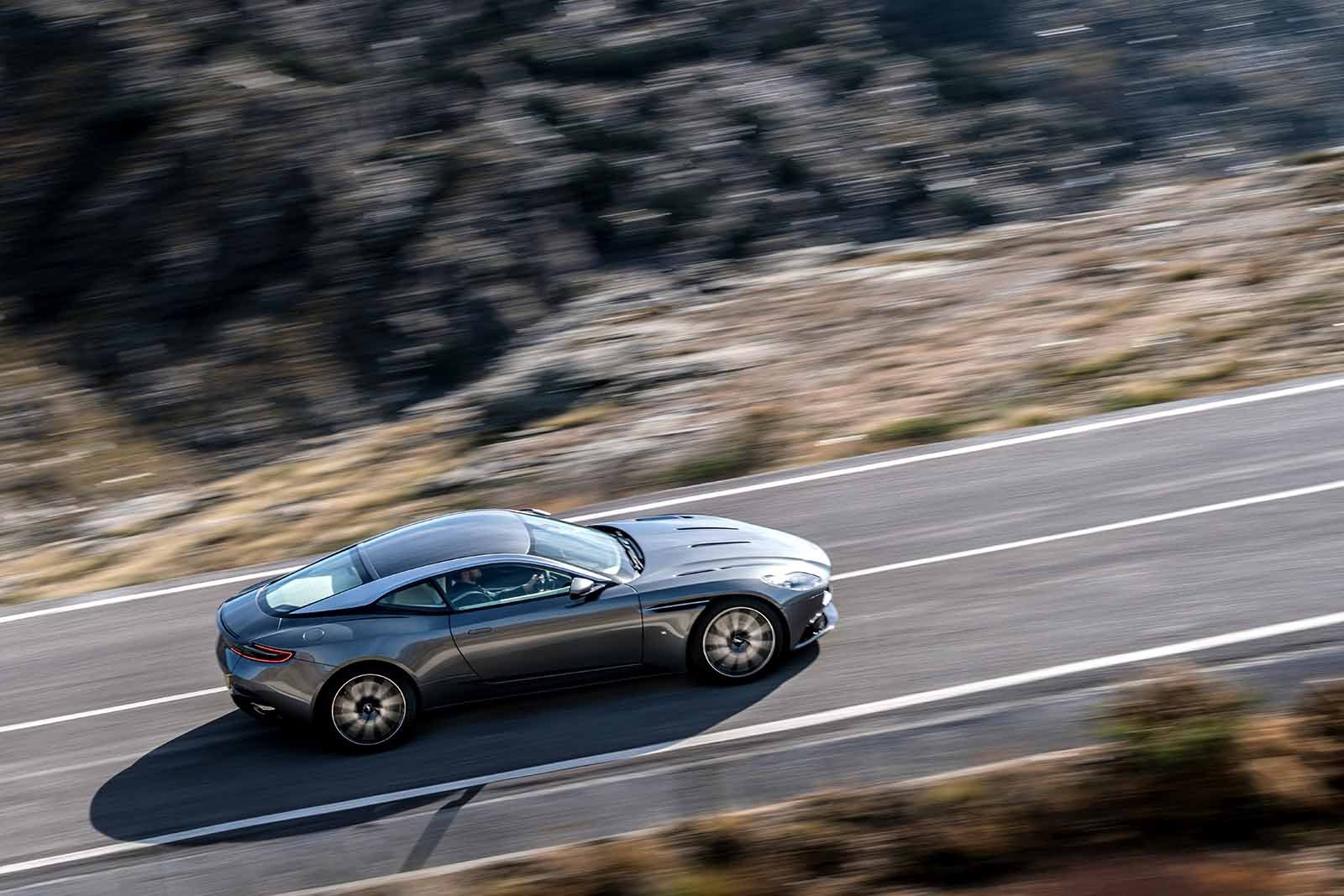 Aston Martin DB11 On The Road