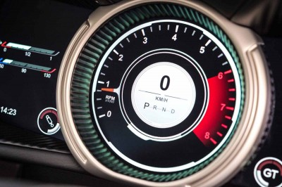 Aston Martin DB11 Rev Counter