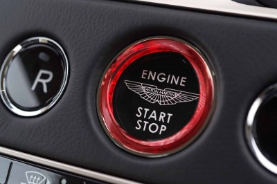 Aston Martin DB11 Start Button