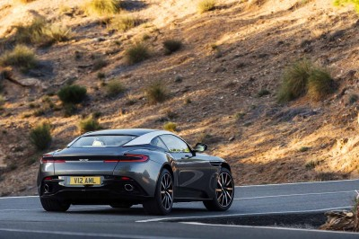 Aston Martin DB11 With Sculpted Tail-lights