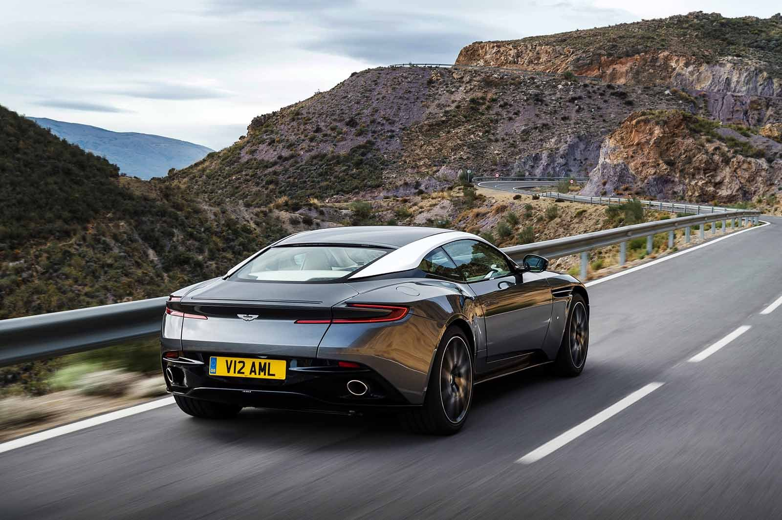 Driving the Aston Martin DB11