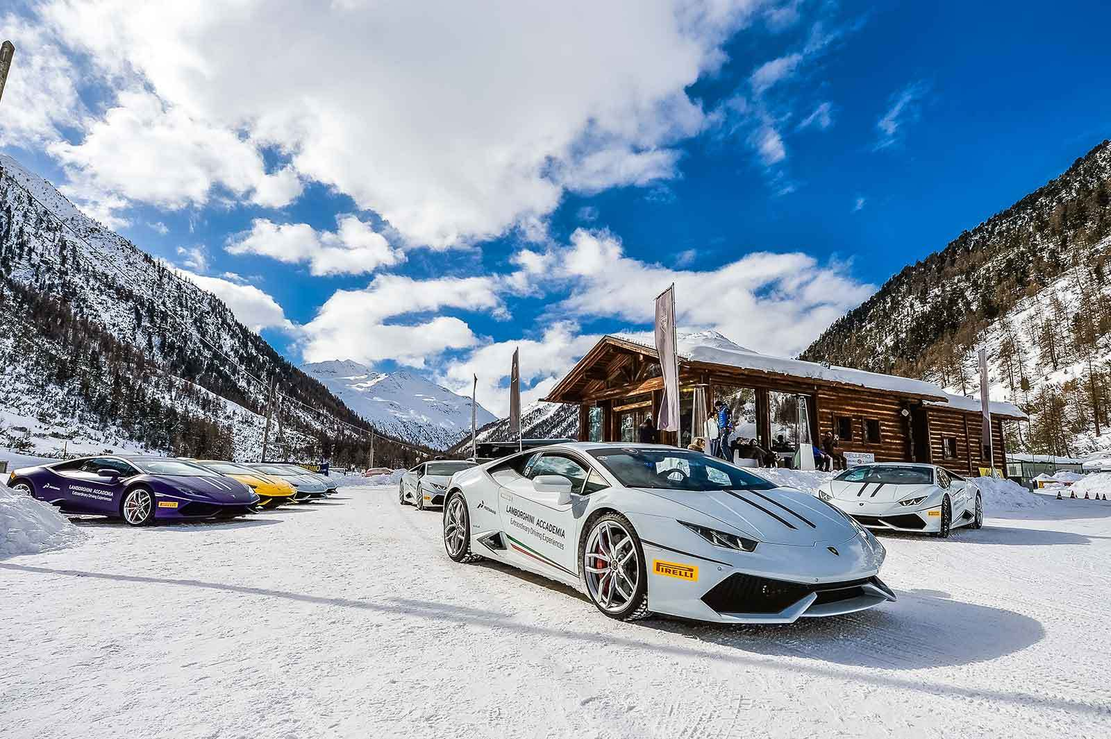 The Lamborghini Winter Accademia