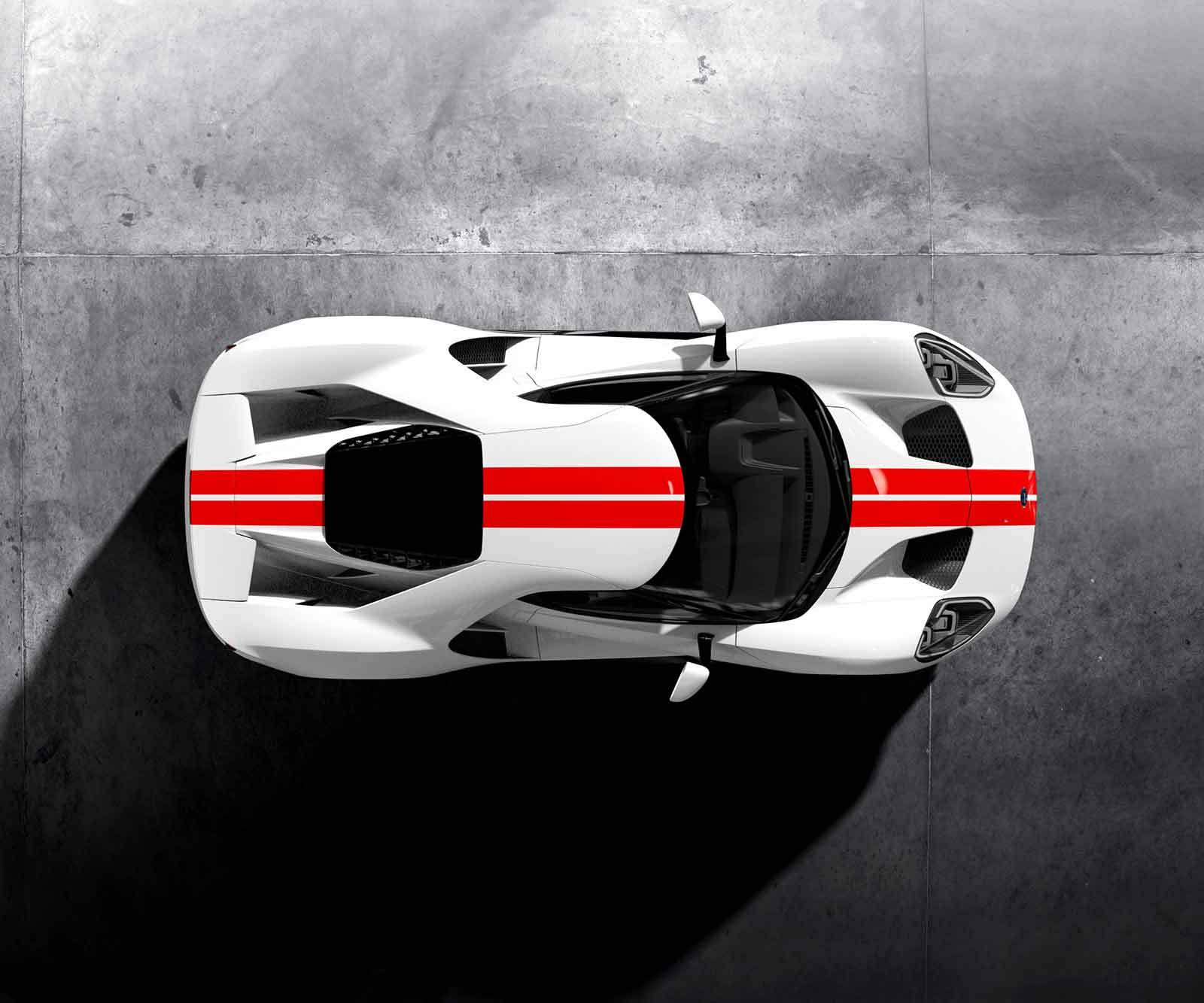 Ford received 6,506 fully completed Ford GT applications from people around the world