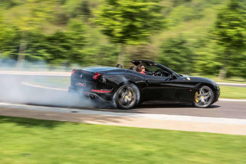 Fast Food for Goodwood FoS with Ferrari California T Handling Speciale
